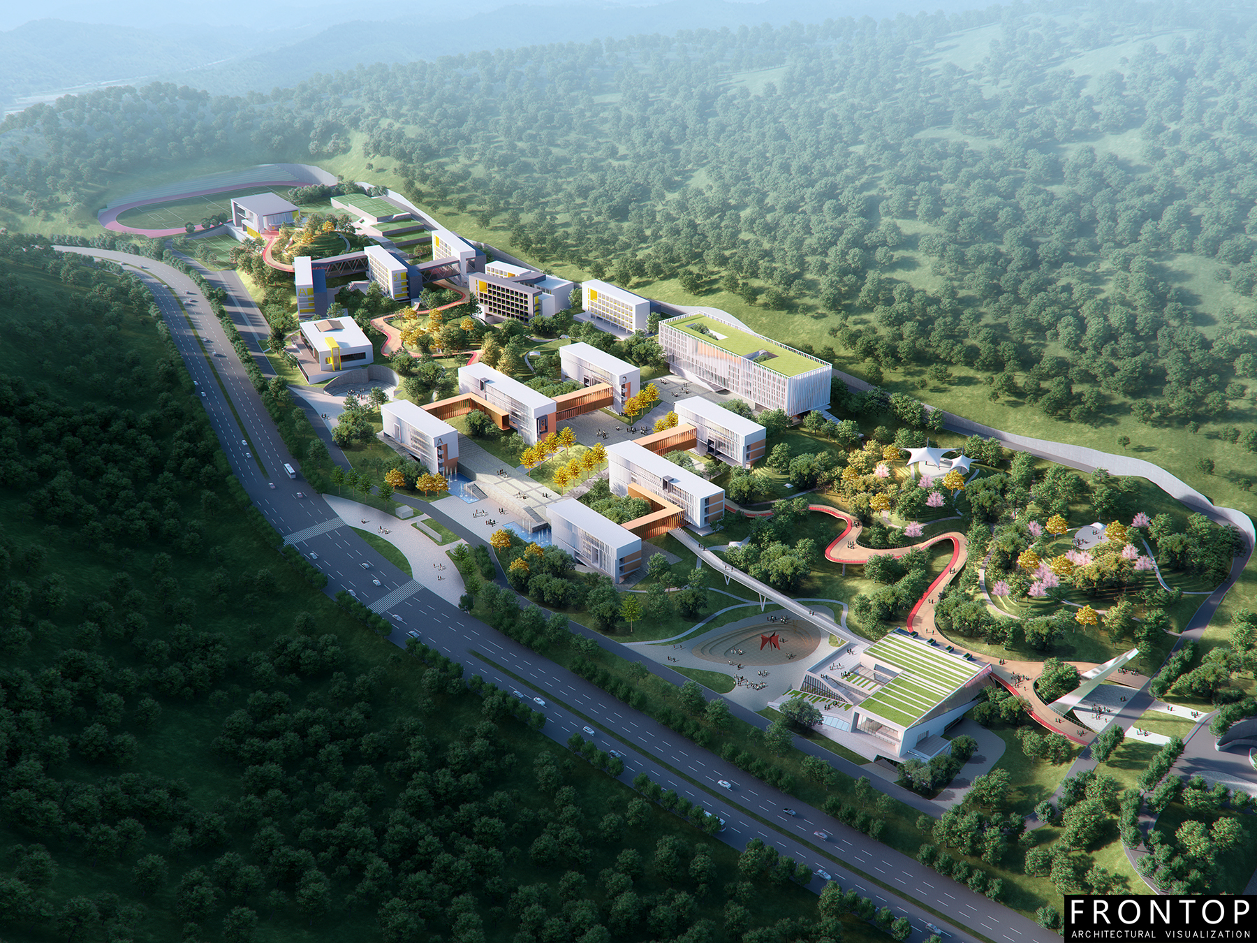 New Arrival China Sketch Architectural Design - Early Childhood Teacher College – Frontop