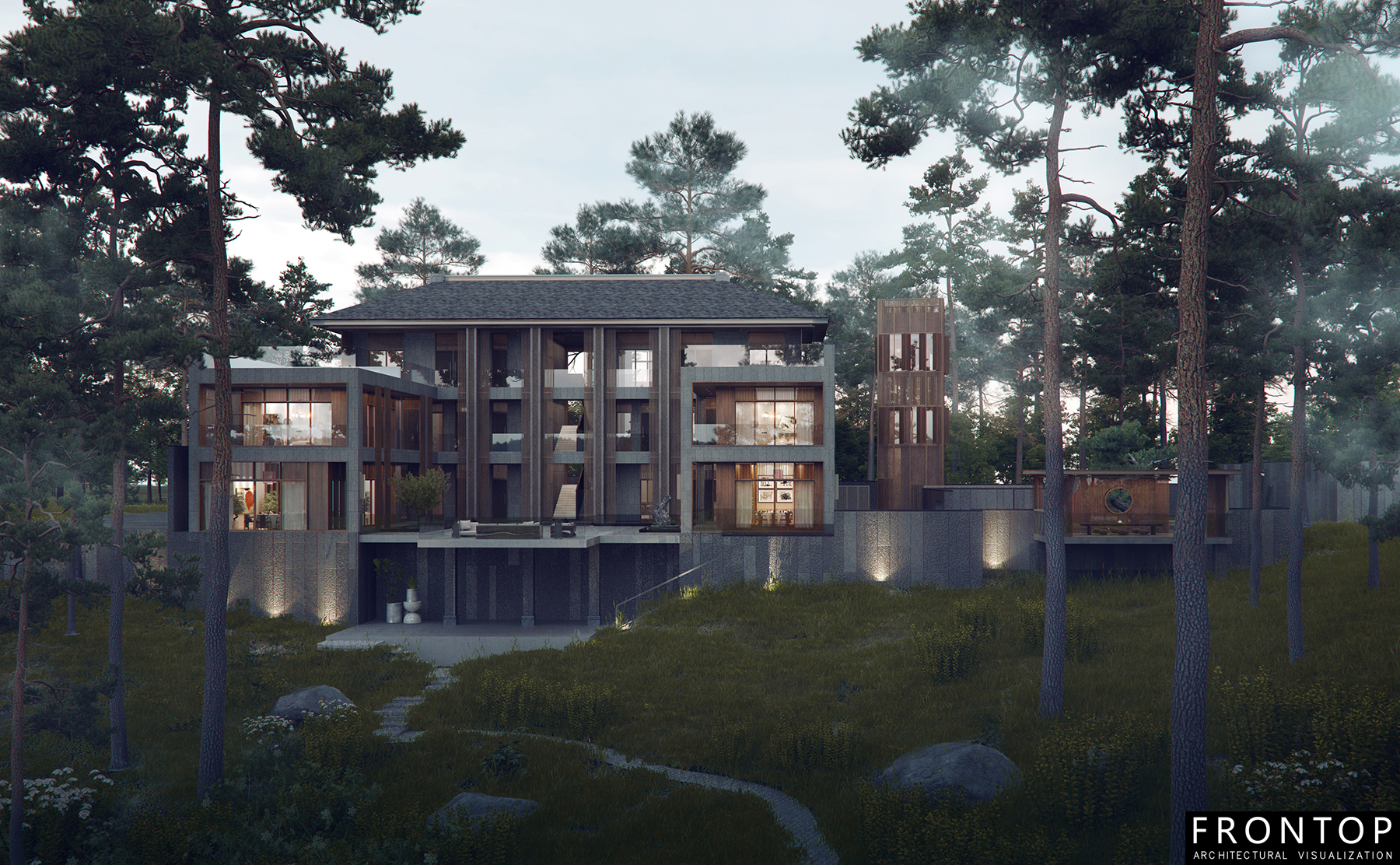 Chinese Professional 3d Rendering Drawing -