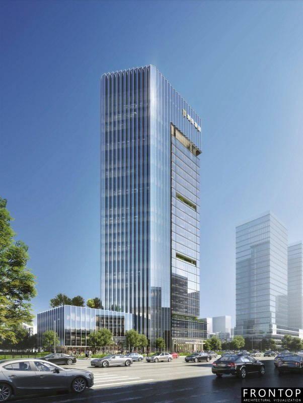 Free sample for Rendering Machine - Headquarters Building of Zhongbei Road – Frontop
