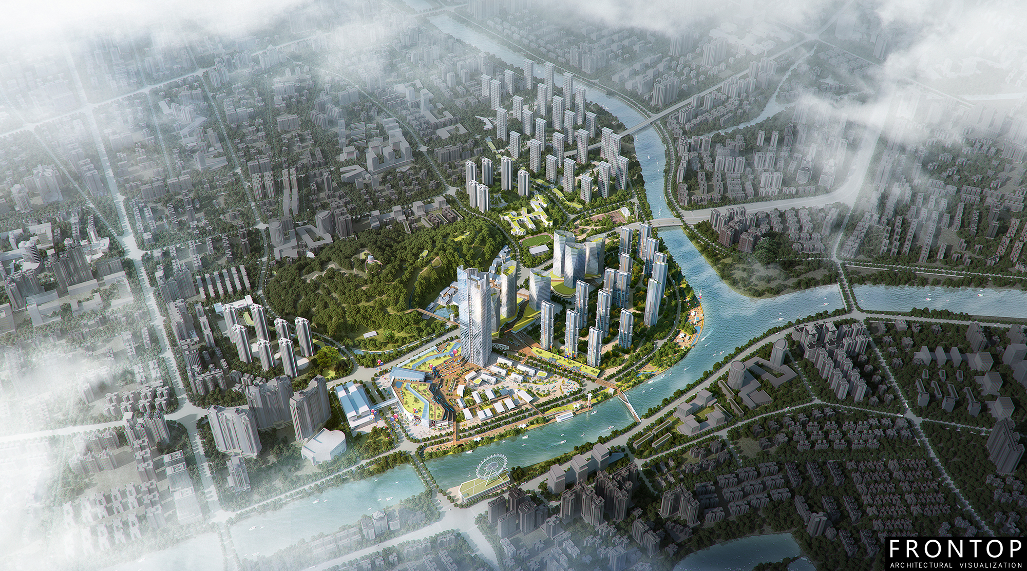 Fixed Competitive Price 3d Architecture Perspective - Ma Shan District, Zhongshan City – Frontop