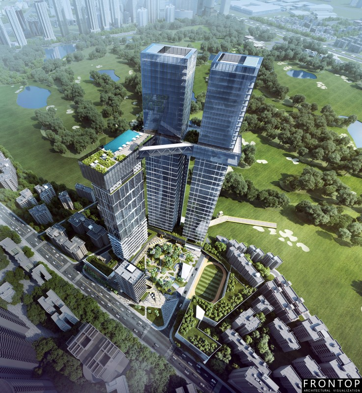 2017 High quality Cgi Perspectives Renderings -