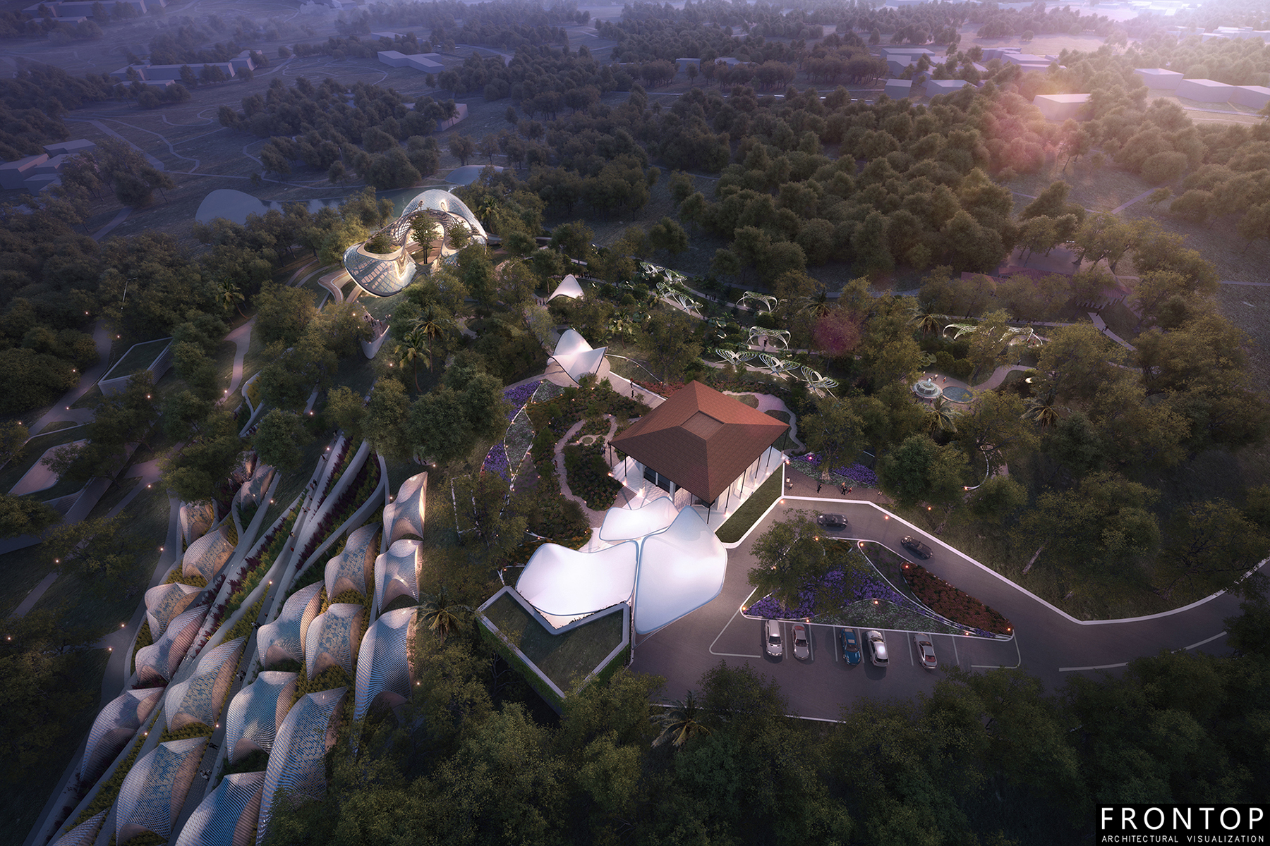 China Factory for Best Villa 3d Design -
