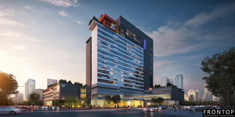 Cheapest Factory 3d Design Architectural Drawing - Suzhou Westin Hotel – Frontop