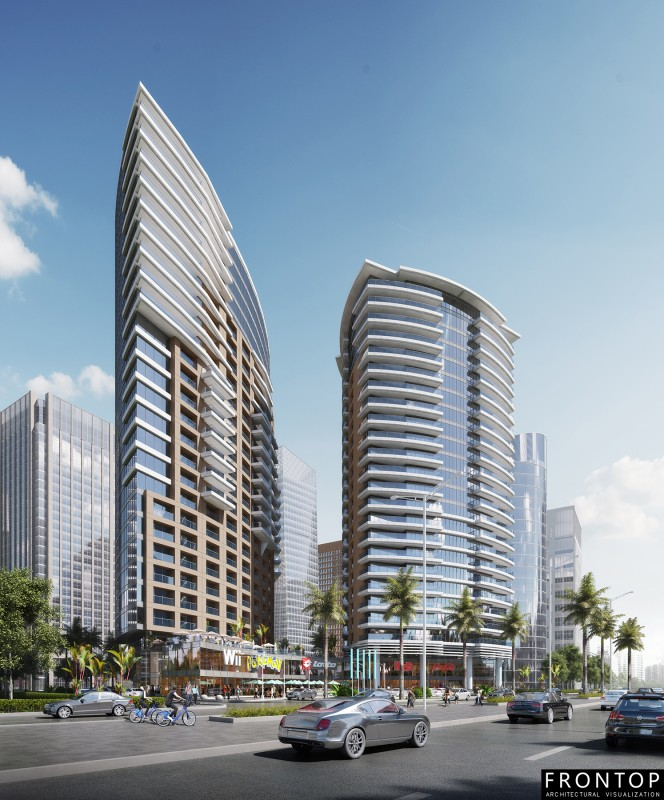 RFQ Tower plaza