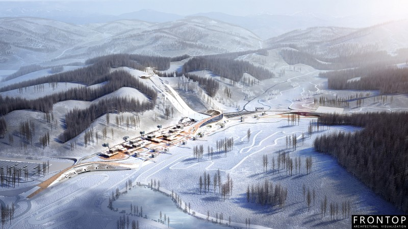 Olympic Sports Park for Beijing 2022 Winter Olympics and Winter Paralympics