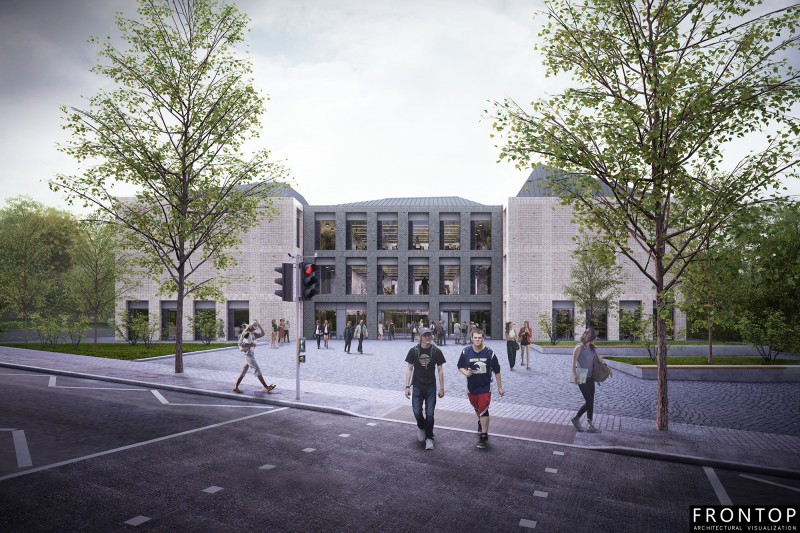 Factory For Architectural Design Of Houses - Mountjoy Teaching and Learning Centre – Frontop