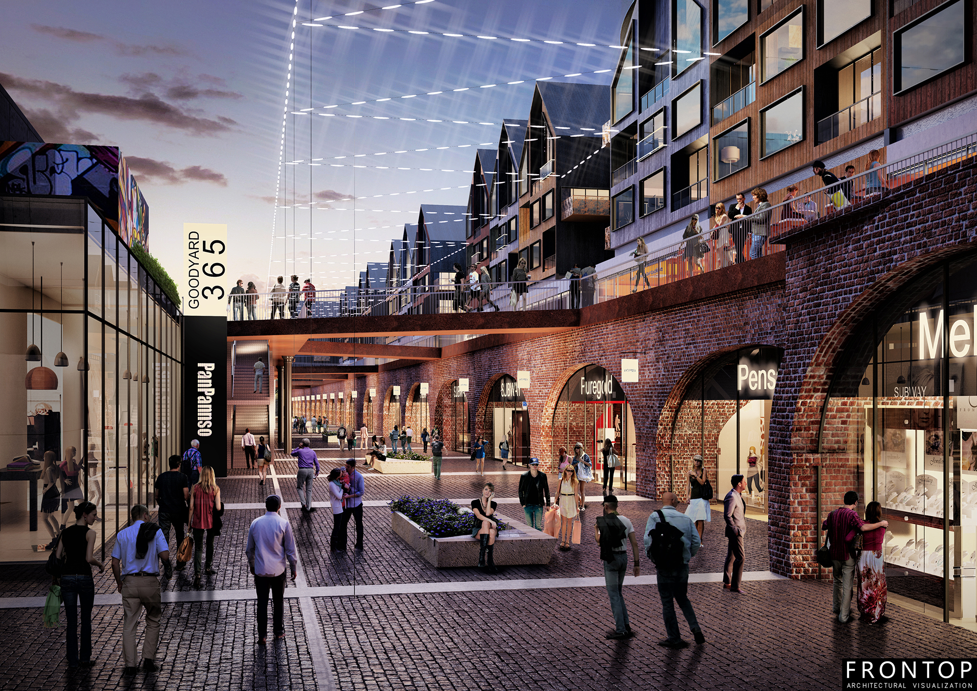 2017 Good Quality Optical Showroom - Goodsyard Masterplan – Frontop