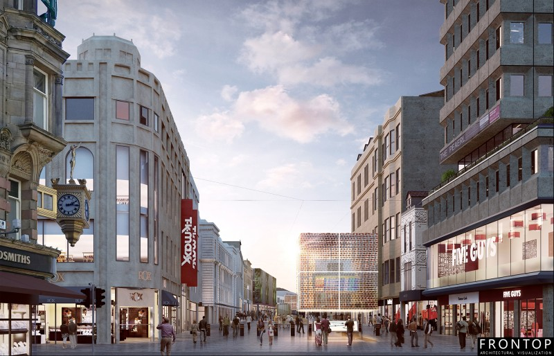 Hot New Products China 3d Rendering -