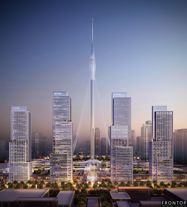 8 Year Exporter Price Architectural Rendering - Dubai Creek Harbor – Frontop