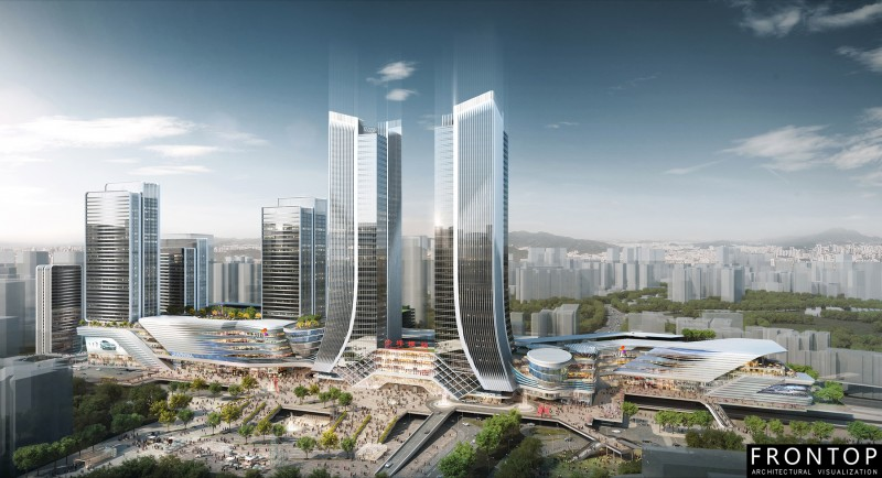 Free sample for 3d Building Rendering - Longfor Chongqing – Frontop
