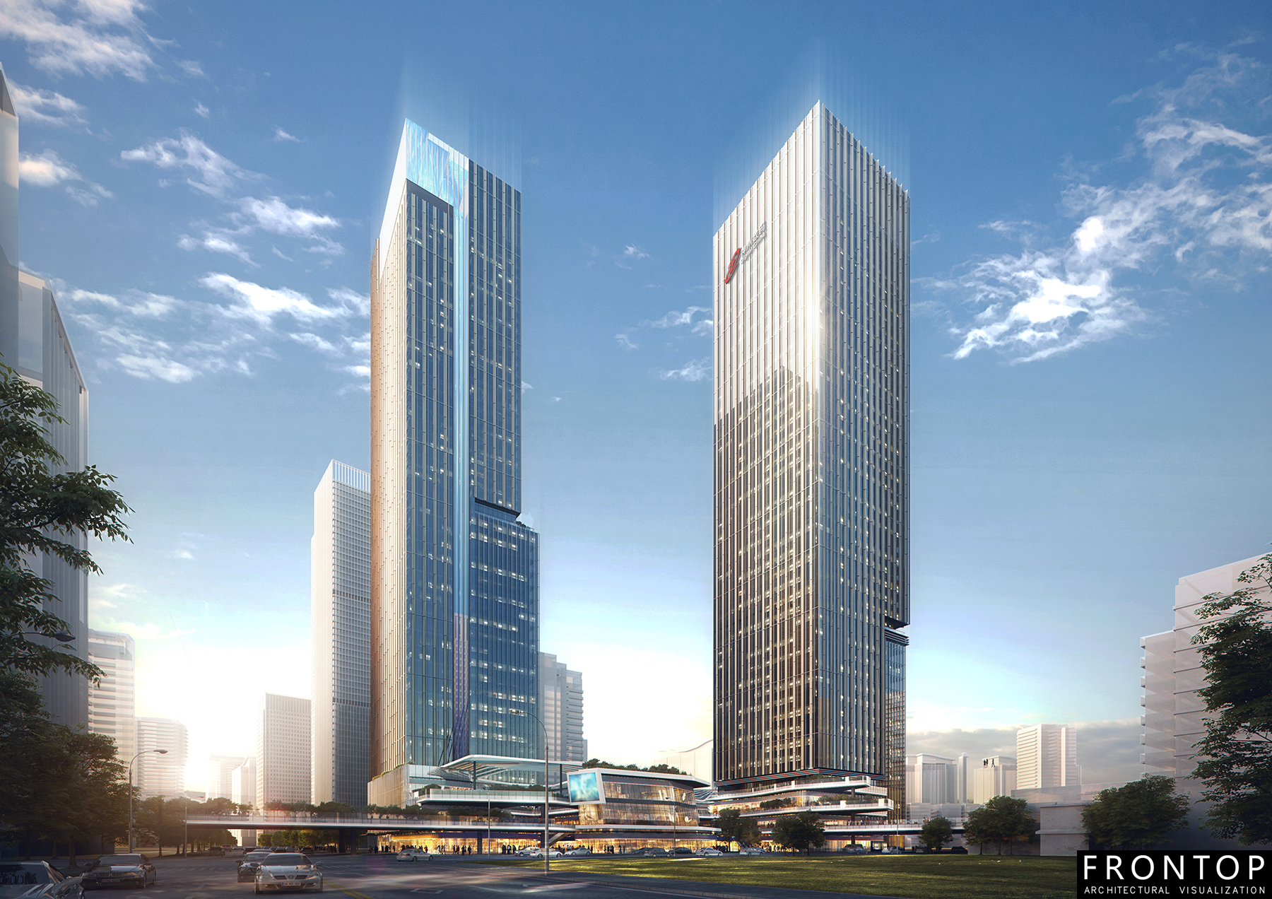 Europe style for Top 3d Rendering -