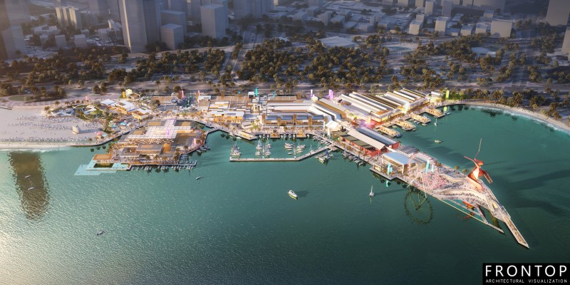 Chinese wholesale 3d Perspectives - Waterfront – Frontop