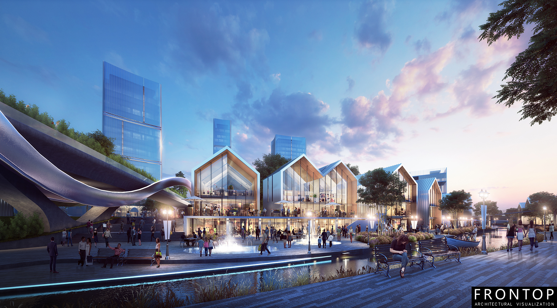 project of a masterplan in Bin Hai Featured Image