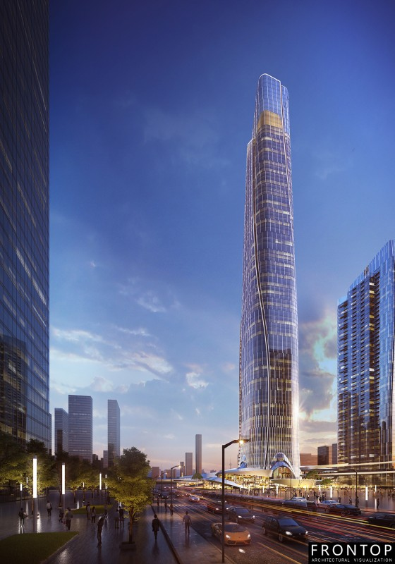 Wuhan Zhou Dafu Financial Center