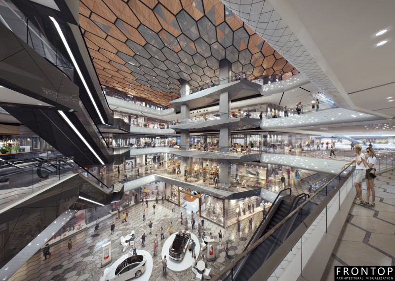 Wuhan Vanke shopping mall