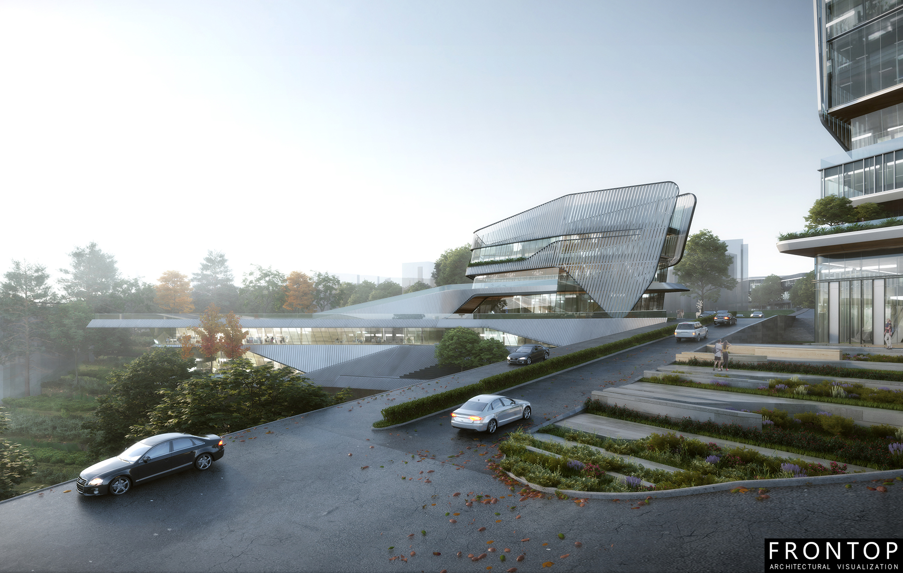 Well-designed Chinese Architectural Visualization Service -