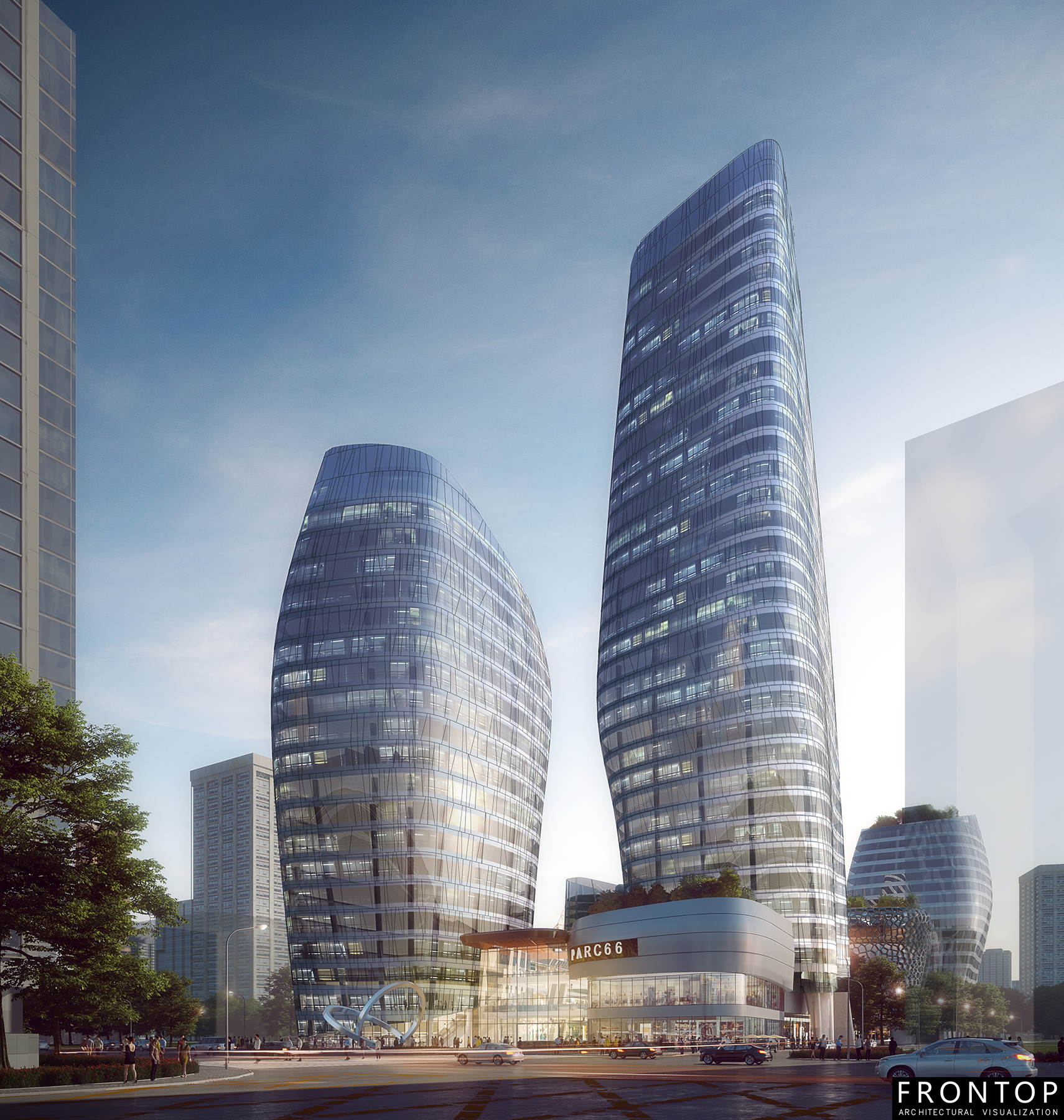 Wholesale Discount Visulization Architectural Rendering - Hangzhou Competition – Frontop