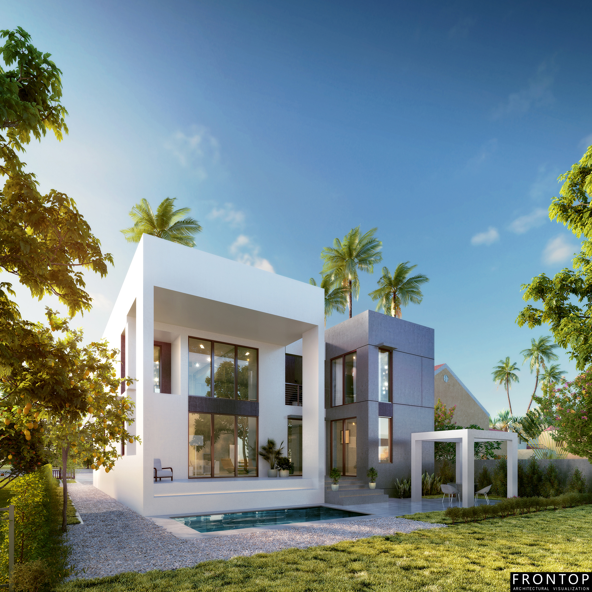 China Manufacturer for 3d Max Architecture Rendering - Hirsch Residence – Frontop