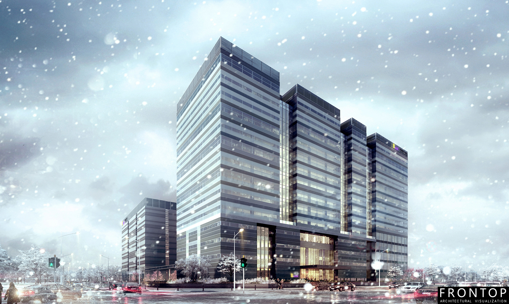OEM/ODM Manufacturer Extrior 3d Rendering - China Everbright Bank R&D Center – Frontop