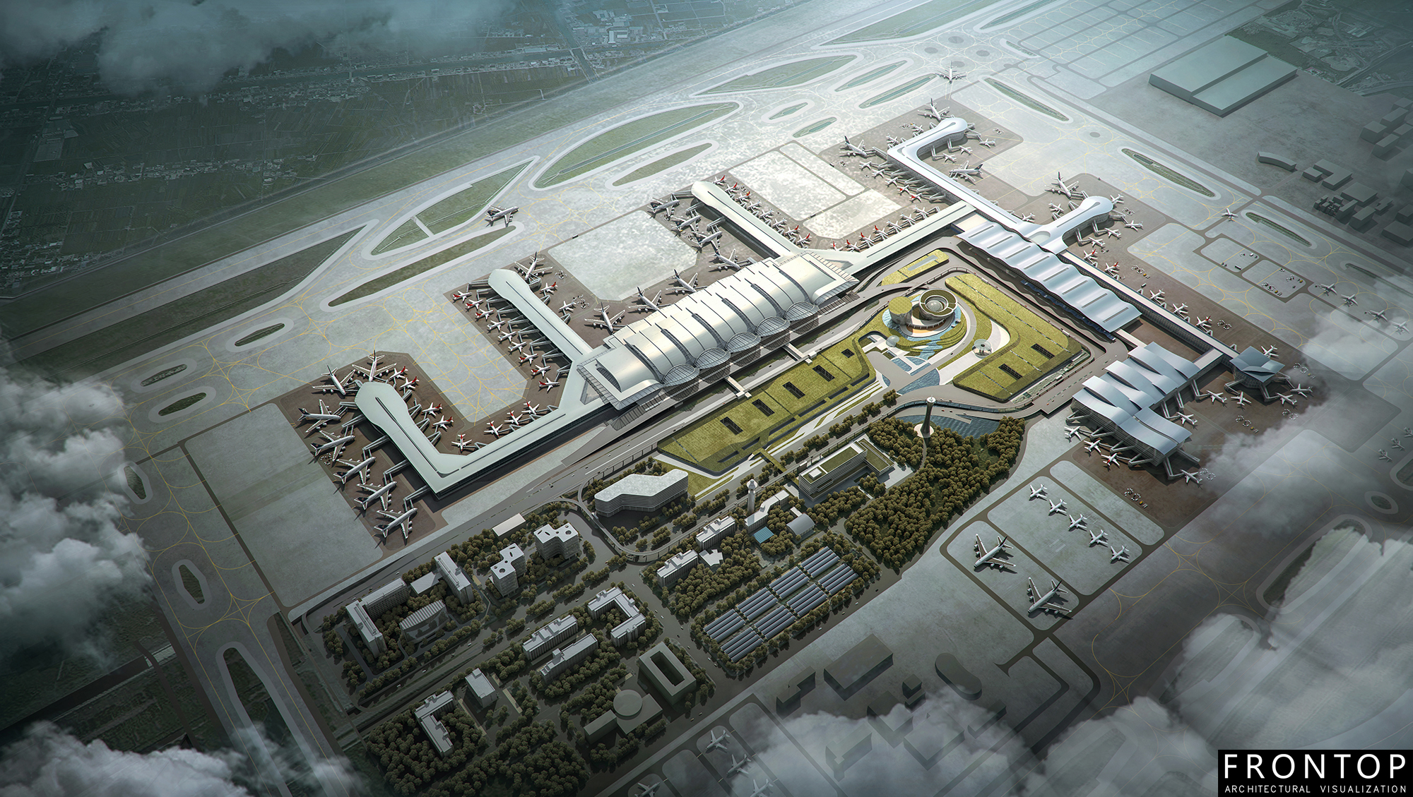 Top Quality Master Planning Visualization -