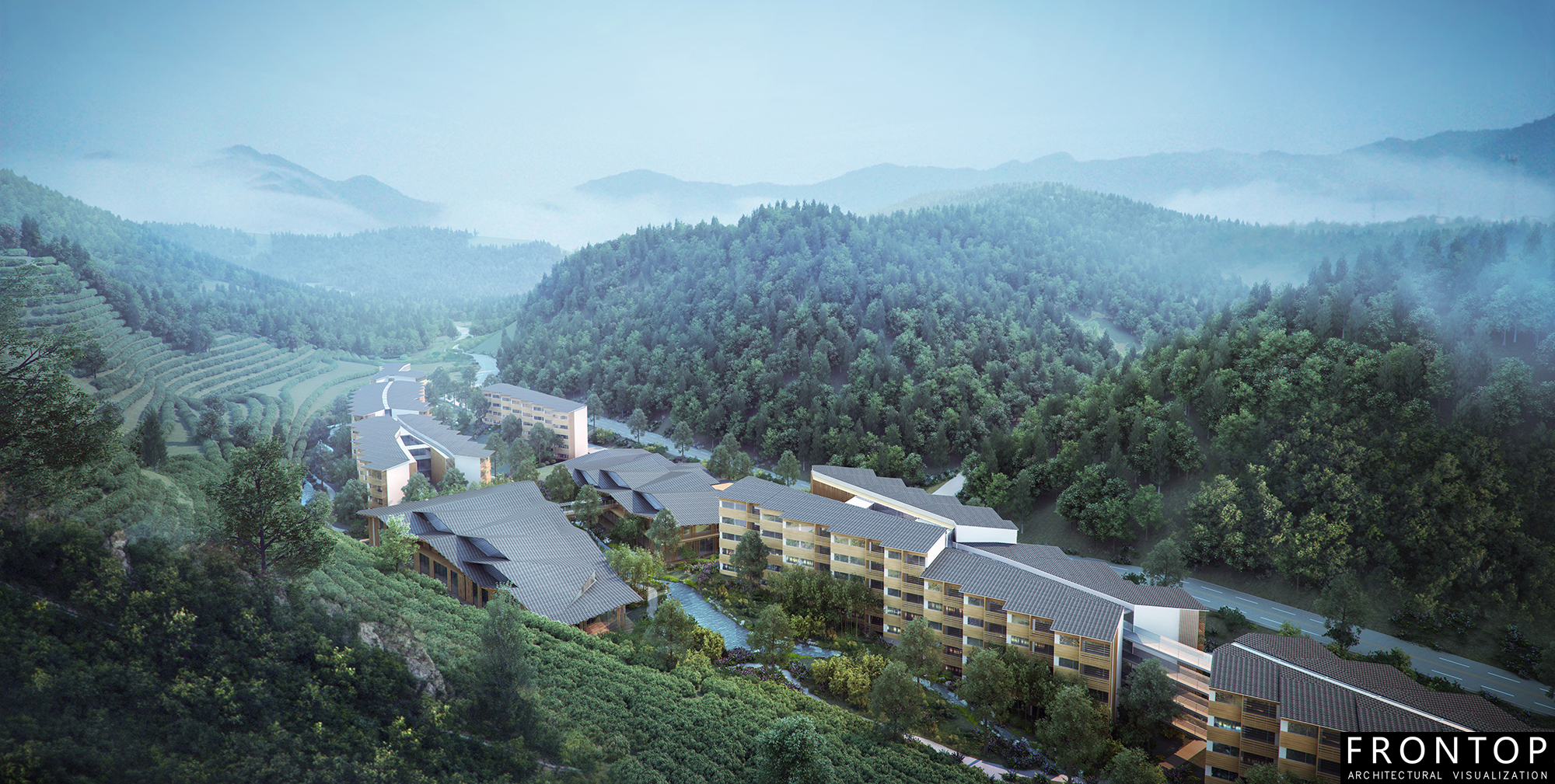Factory source Photorealistic 3d Rendering Company - Hangzhou Daqing Valley – Frontop