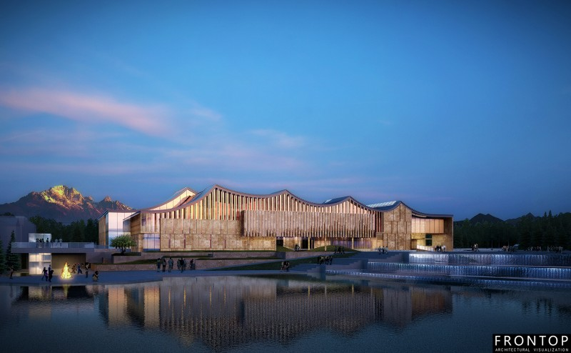Renewable Design for 3d Visualization Outsourcing - Lijiang Museum – Frontop