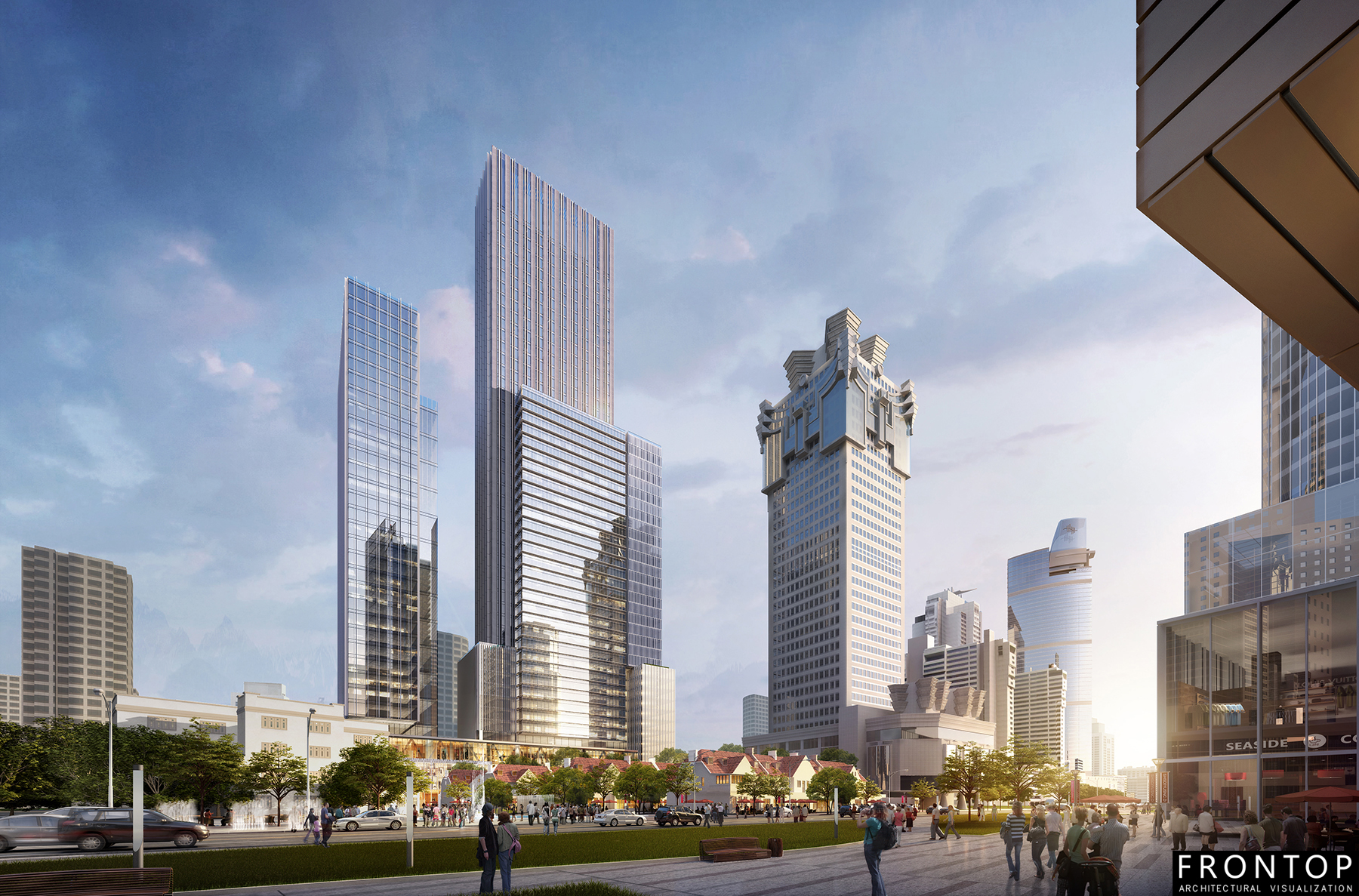 No. 1486 plot project of Nanjing West Road Featured Image