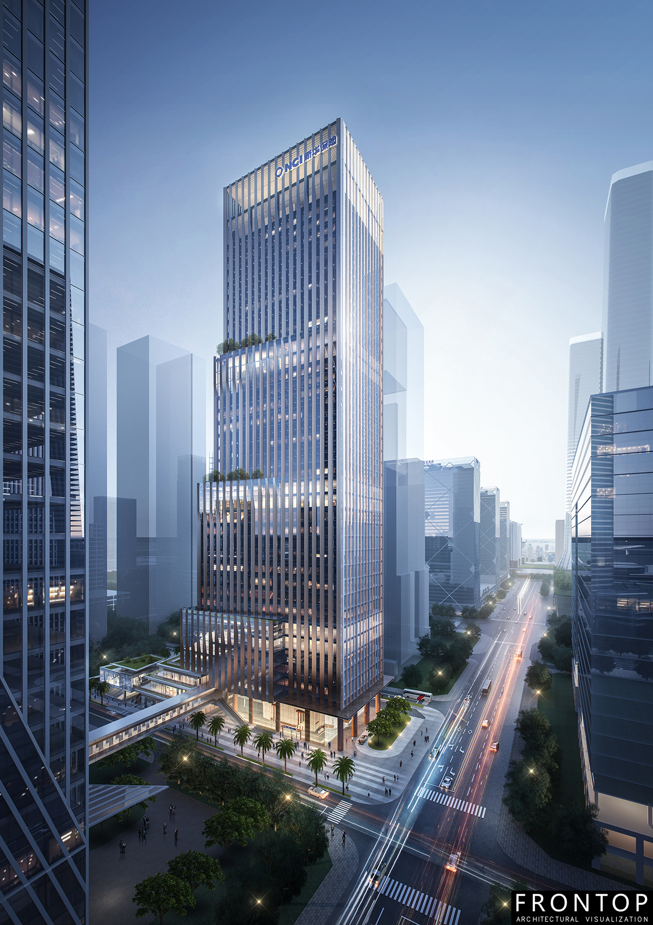 China wholesale Rendering/Animation/Interiorlandscape Model - Xinhua Insurance Building – Frontop