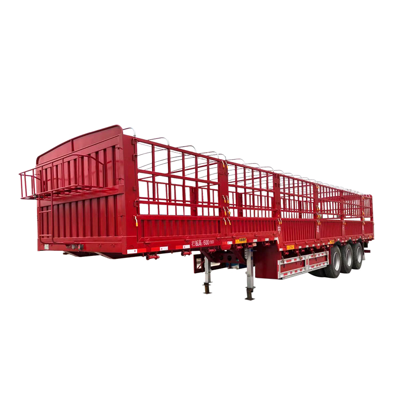 Gooseneck fence semitrailer Featured Image