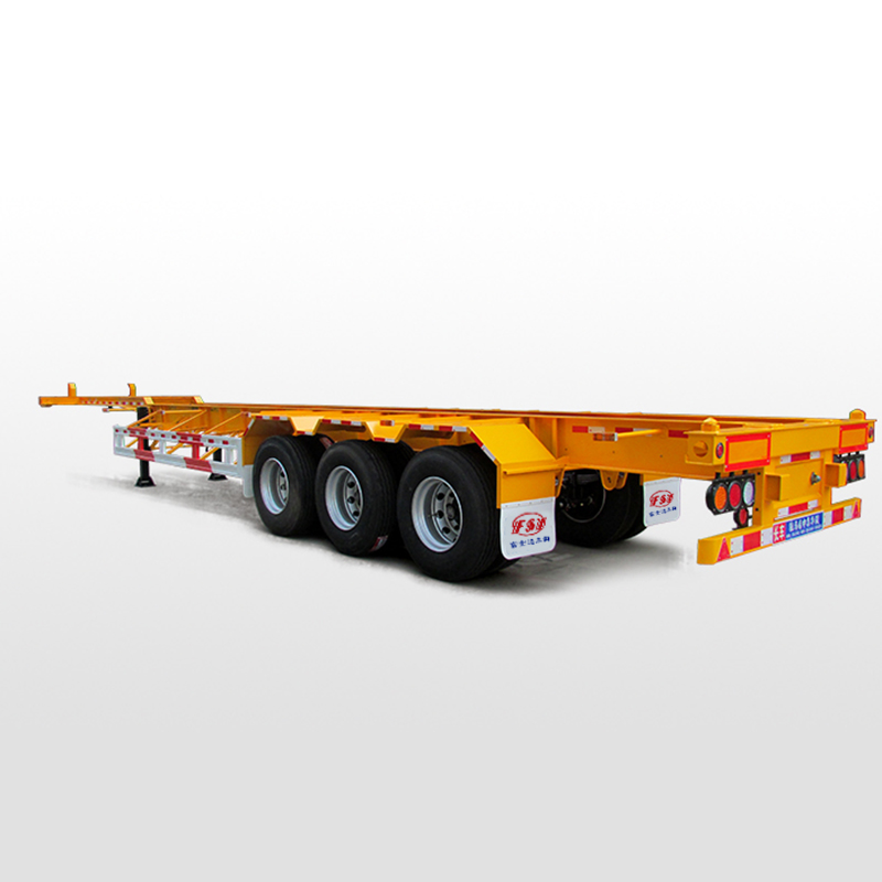 Reasonable price for 2 Axle Skeleton Trailer -