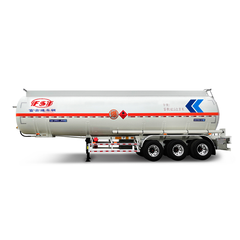 Stainless Steel Liquid Tank  Semi Trailer