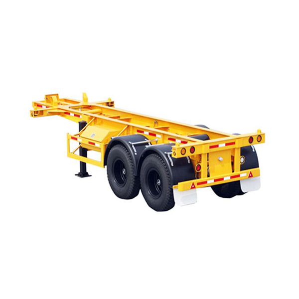 container transport semi-trailer two axis