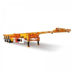 Top Quality Dump Semitrailer With Cargo Box -