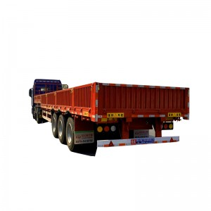 Chinese wholesale Mass Sides Grain Trailers -