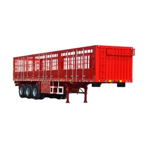 Factory making 20ft Skeleton Trailer -