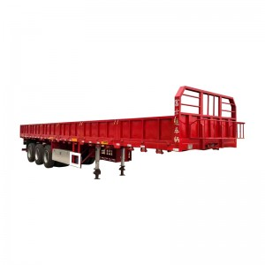 Hot New Products Curtain Side Semi Trailer -