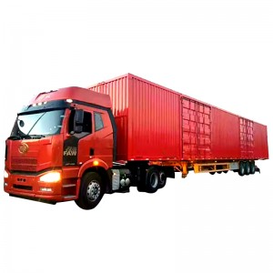 container transport semi-trailer container