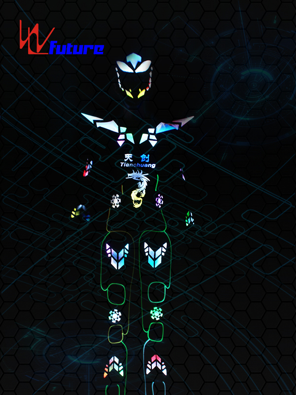 2017 High quality Mobile Power Supply For Clothing - Stilts Walker LED Cyborg Robot Warrior Costume WL-0183 – Future Creative detail pictures