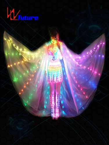 Magic Fairy LED Lights Dress Costumes with Wings WL-0132