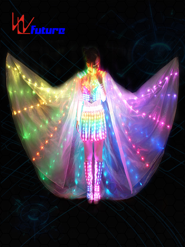 18 Years Factory White Led Costumes - Hight Quality Rgb Color Led Growing Suit Costume Women Led Luminous Clothing Dance Wear For Night Clubs Party Ktv Supplies – Future Creative