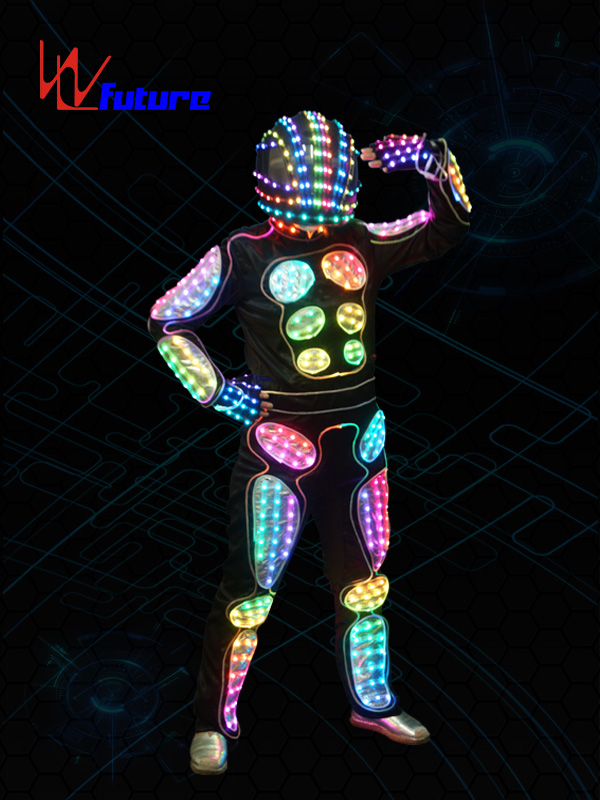 Hot Selling for Clothing Battery - Programable LED Tron Costume Robot suit WL-0152 – Future Creative