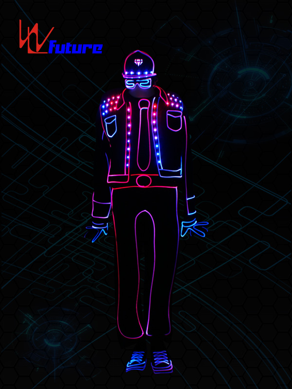 Well-designed Led Womens Dance Costumes - Special Price for Light Balance Costume Led Performers Stage Show Performers Tron Dance Costume For Sale – Future Creative