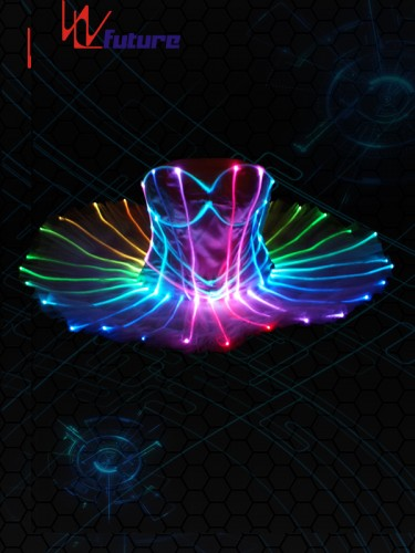 Full Color Fiber Optic Ballet skirt WL-075