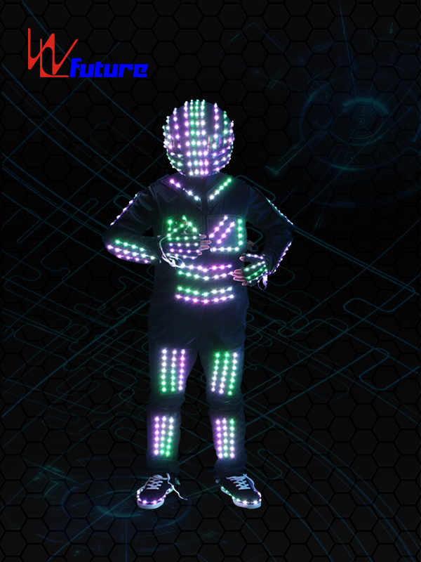 factory Outlets for Led Womens Dance Costumes - Tron halloween costume light up with helmet WL-067 – Future Creative