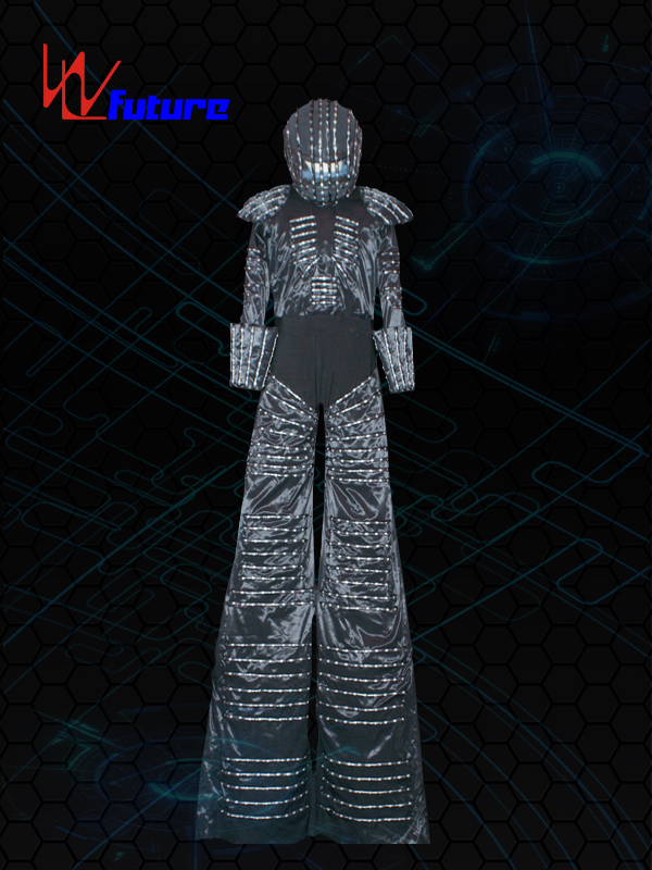 100% Original Disco Ball Dress - Stilts walker's LED Suit with Helmet WL-078 – Future Creative