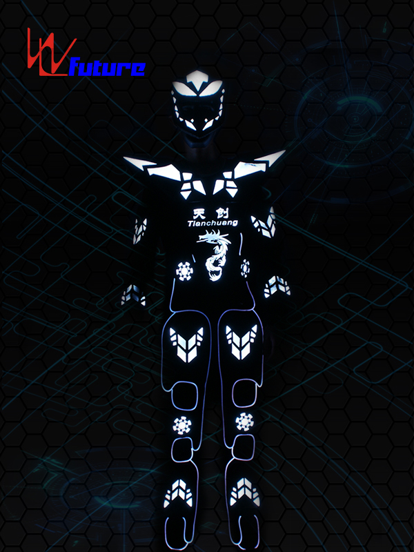 Factory wholesale Stage Costumes Led - Stilts Walker LED Cyborg Robot Warrior Costume WL-0183 – Future Creative