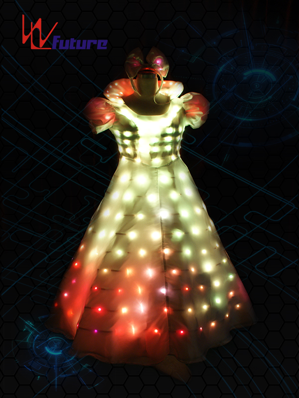 Factory wholesale Led Light Up Tutu - Smart Costume Princess Dress For Party WL-055 – Future Creative