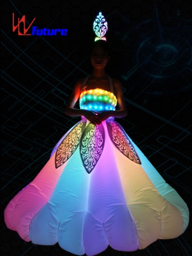 Future LED Inflatable Costumes Light Up Dress For Entertainment WL-0179A