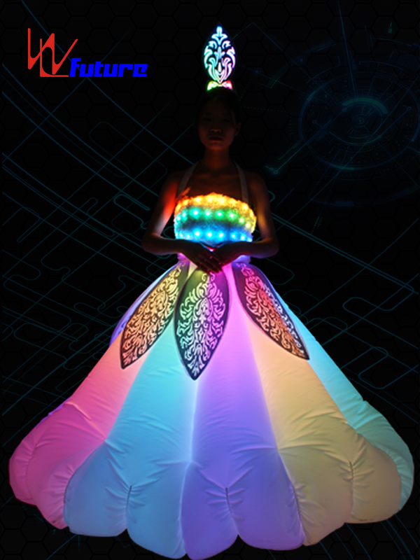 Future LED Inflatable Costumes Light Up Dress For Entertainment WL-0179A Featured Image