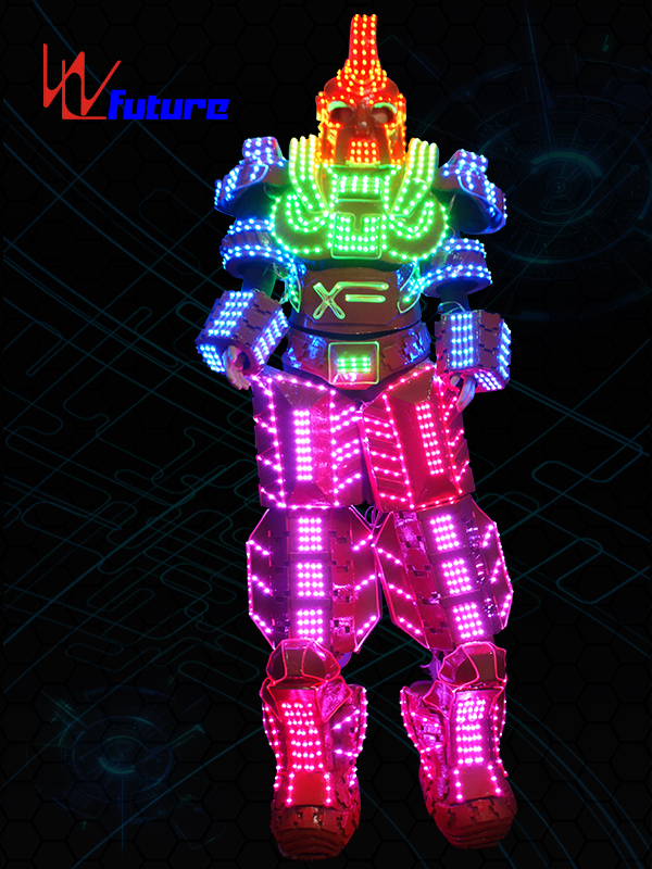 Newly Arrival Led T Shirt Diy - Hot New Products Led Luminous Clothes Robot Stilts Suit For Performance Led Robot Cosplay Costume Ballroom Show Luminescent Clothes – Future Creative